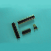 P1278ST 1.27x2.54mm Dual Row Pin Header Connector - SMT type