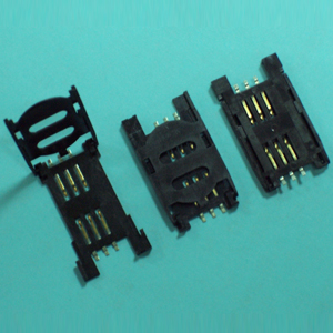 SIM CARD Connector SIM CARD CONNECTOR ASSY W/COVER TYPE